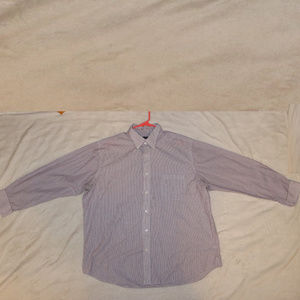 Croft & Barrow Striped Long Sleeve Button Up